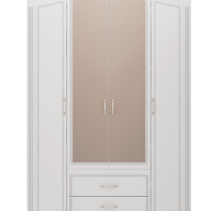 02 3 300x300 - Виктория 02 шкаф для одежды 4-х дверный с зеркалом