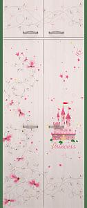 02 4 126x300 - Принцесса 02 антрессоль к шкафу