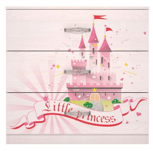 03 19 - Принцесса 03 комод 3 ящика