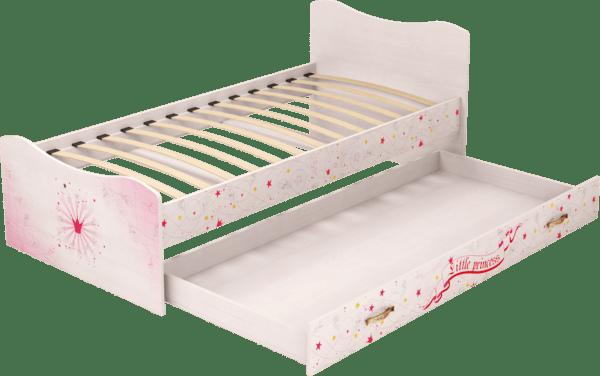 04444 600x376 - Принцесса 04 кровать с ящиком