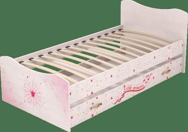 044444 600x422 - Принцесса 04 кровать с ящиком