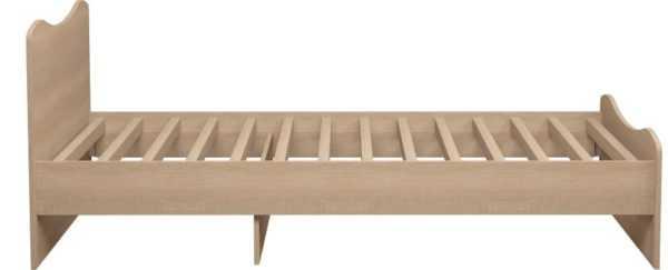 052 600x243 - Квест 05 Кровать одинарная (без ящика)