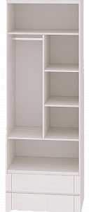 """Шкаф для одежды 2-х дверный """"Твист"""" 01"""