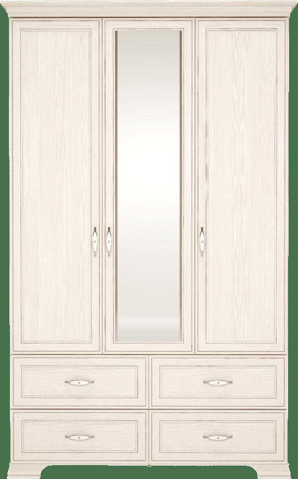 11a196ed45b8521026a543522c07e755 1 600x965 - Венеция 01 шкаф для одежды 3-х дверный с зеркалом