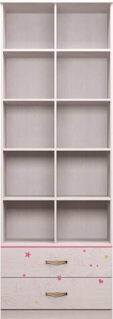141 6 - Принцесса 14 шкаф комбинированный