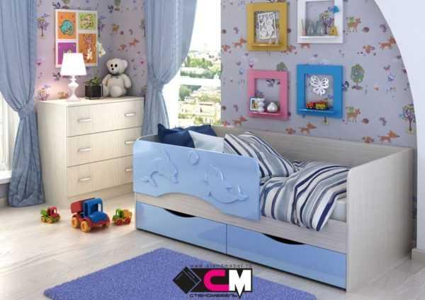 """163d53d2f7c531255f431b9a1e727504 600x424 - Детская кроватка """"Алиса"""" 80х160 см"""