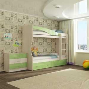 """1 129 300x300 - Двухъярусная детская кровать """"Буратино"""""""