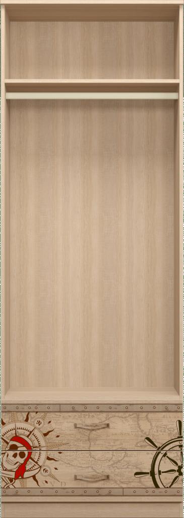 201 2 - Квест 20 шкаф для одежды 2-х дверный с ящиками