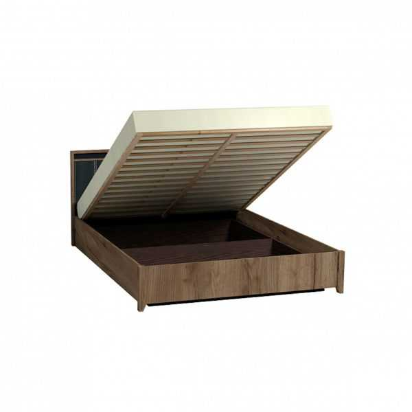 2 114 600x600 - Nature 307 Кровать Люкс с подъемным механизмом (1600)