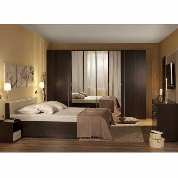 341 1 600x600 - BERLIN 34 Шкаф для одежды и белья  4-х дверный
