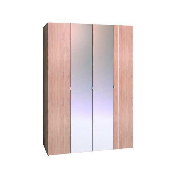 343 1 600x600 - BERLIN 34 Шкаф для одежды и белья  4-х дверный
