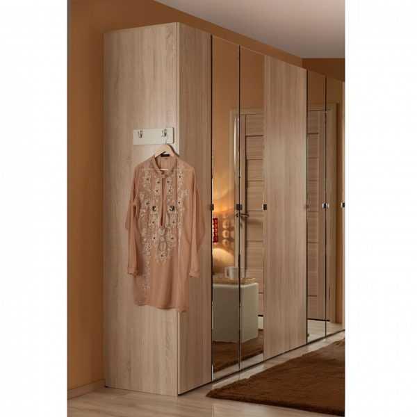 346 600x600 - BERLIN 34 Шкаф для одежды и белья  4-х дверный