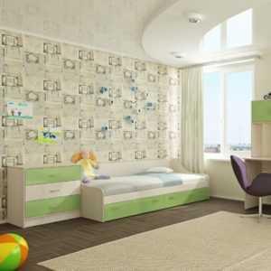 """3 73 300x300 - Кровать с ящиками """"Буратино"""""""