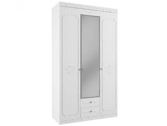 3dv - Мария-Луиза 03 шкаф 3-х дверный с зеркалом