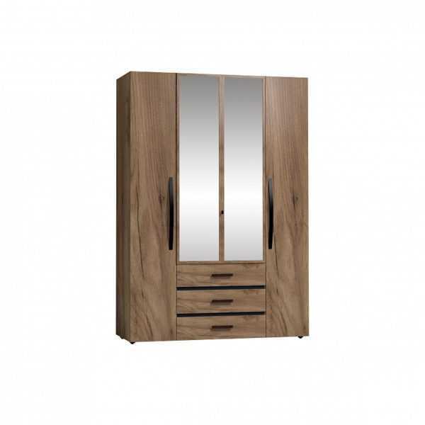 4 57 600x600 - Nature 555 Шкаф для одежды и белья  4-х дверный