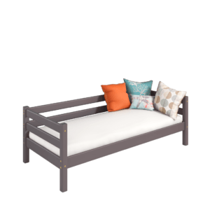 """Кровать """"Соня"""" односпальная вариант 2 с задней защитой"""