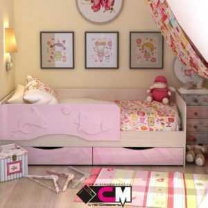 "4cdc99b22899001ec211d681e5478d19 300x300 - Детская кроватка ""Алиса"" 80х160 см"