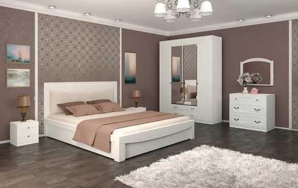 4ehwv3wbbee 4 - Мария-Луиза 14 кровать 140*200
