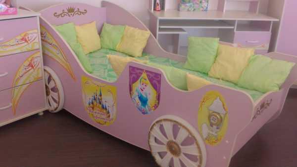 """5c6ecd3392493be82dca544f3a0a0015 600x338 - Набор мебели для детской """"Принцесса"""""""