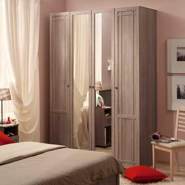 602 600x600 - Sherlock 60 Шкаф для одежды четырехдверный распашной