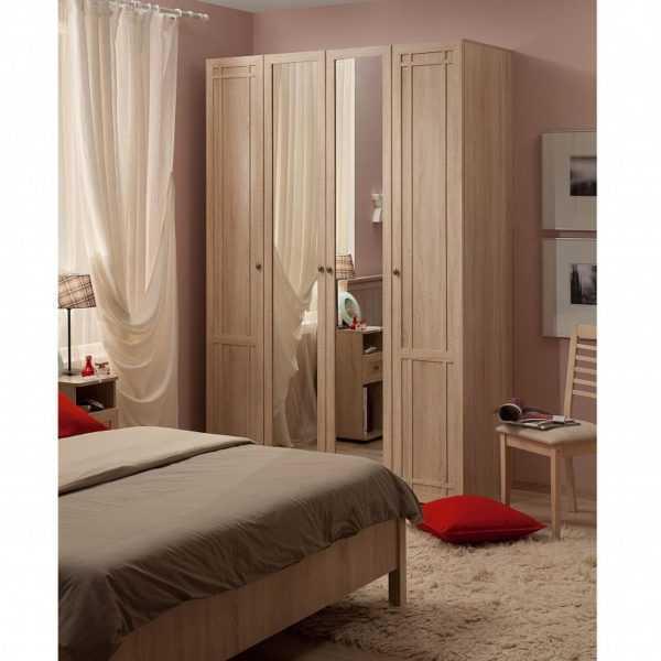 606 600x600 - Sherlock 60 Шкаф для одежды четырехдверный распашной