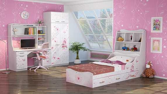 6a60e6ce288244da07182501a9c73f03 - Принцесса 01 шкаф для одежды 2-х дверный