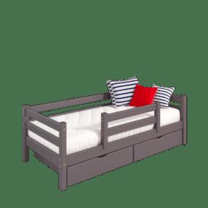 """Кровать """"Соня"""" односпальная вариант 4 с защитой по центру"""
