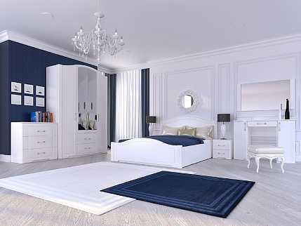 "72e87db4307ccf697e2258cd51540bc5 13 - Спальня ""Виктория"" (Белый глянец)"