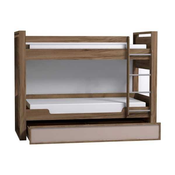 901 600x600 - Nature 90 кровать детская двухъярусная с ящиком