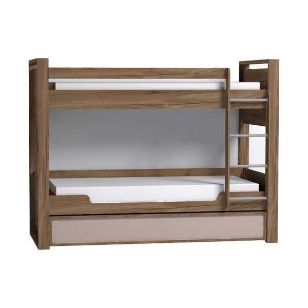 Nature 90 кровать детская двухъярусная с ящиком