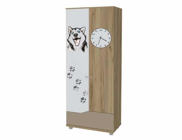 ayuoduuf zm 600x463 1 - Хаски 02 шкаф для одежды