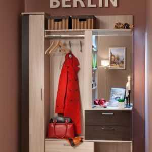 """ber7 300x300 - Модульная прихожая """"BERLIN"""" (венге)"""