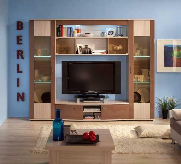 berlin7 1 600x543 - BERLIN 9 Шкаф для одежды (глянец)