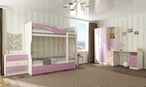 """buratino8 600x359 - Двухъярусная детская кровать """"Буратино"""""""