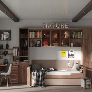 """Мебель для подростковой комнаты """"NATURE"""""""