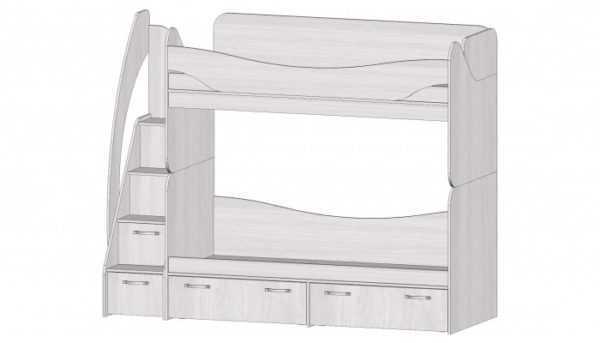 Ральф кровать двухъярусная