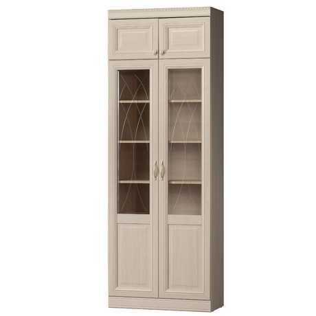 diana12 - Диана 344 шкаф для книг (нортон светлый)