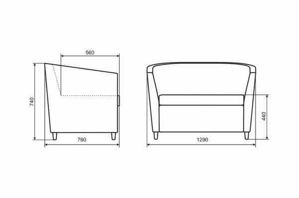 "divan office lora 5 600x399 - Диван ""Лора"""
