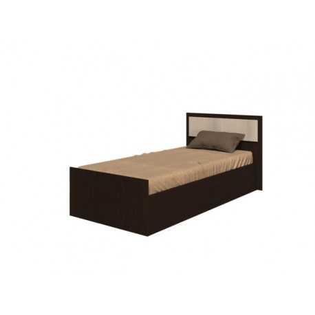 fiesta krovat 09 m - Кровать Фиеста 120х200 см с деревянным изголовьем