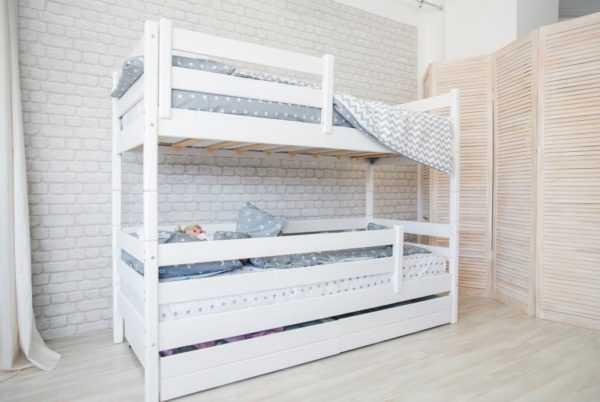 """fy2a5262 600x402 - Двухъярусная кровать из массива """"Сонечка"""""""
