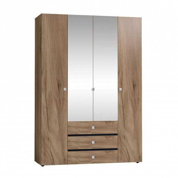 g13 1 600x600 - Neo 555 Шкаф для одежды и белья  4-х дверный