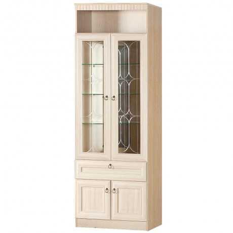Инна 612 шкаф для посуды (денвер светлый)