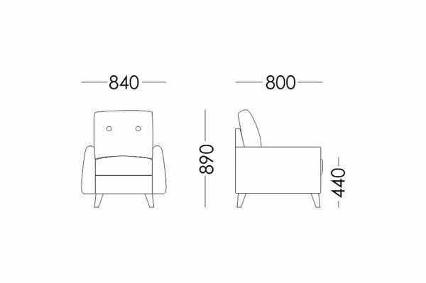 "kreslo denver s 600x399 - Кресло ""Денвер"""