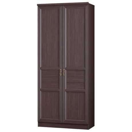 Лира 40 шкаф двухдверный (нортон темный)