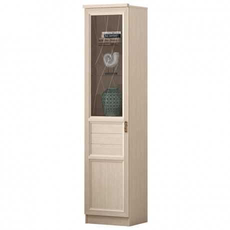 Лира 42 шкаф-витрина (нортон светлый)