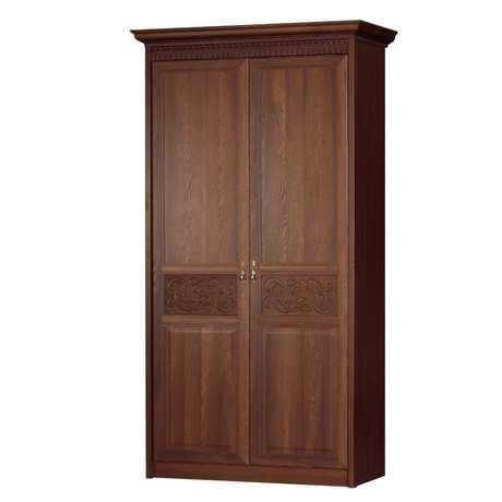 Лючия 181 шкаф двухдверный (дуб оксфорд)
