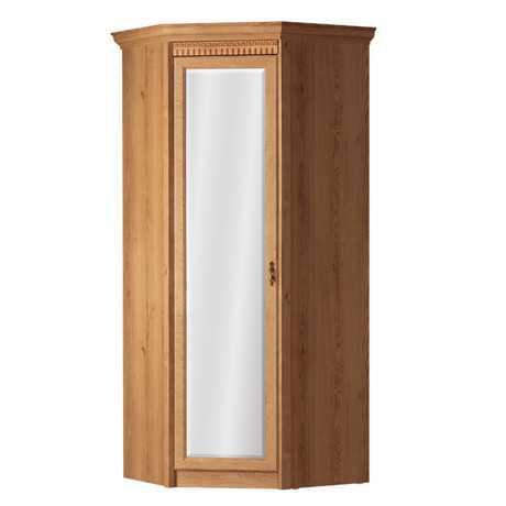 Лючия 183 шкаф угловой с зеркалом (дуб ридинг)