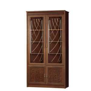Лючия 184 шкаф для книг (дуб оксфорд)