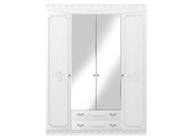 m l shk 4 600x450 - Мария-Луиза 04 шкаф  4-х дверный с зеркалом