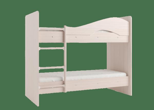 """maya mlechka 2 600x428 - Двухъярусная детская кровать """"Майя"""" со шкафом"""